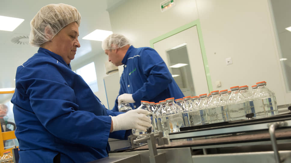 """Научно-технологическая фармацевтическая фирма """"Полисан"""". Производственные линии."""