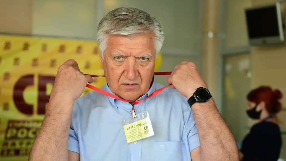 Ректор Северо-Западного института РАНХиГС Владимир Шамахов