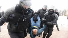 Не менее восьми человек задержаны на сходе против поправок в Конституцию в Петербурге