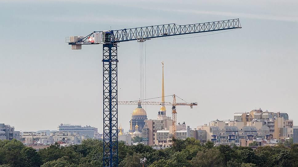 Городские власти объявили мораторий на новое строительство в историческом центре Санкт-Петербурга