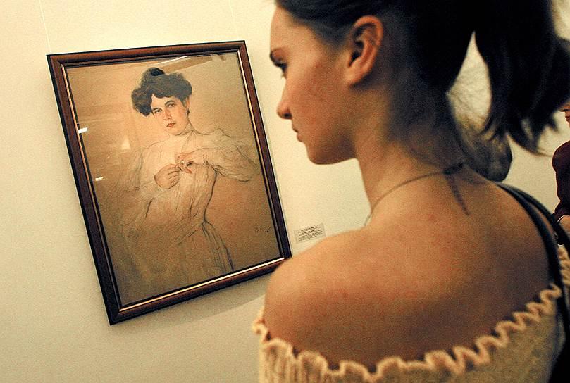Ноябрь 2005. Выставка Валентина Серова из собрания Государственного Русского Музея