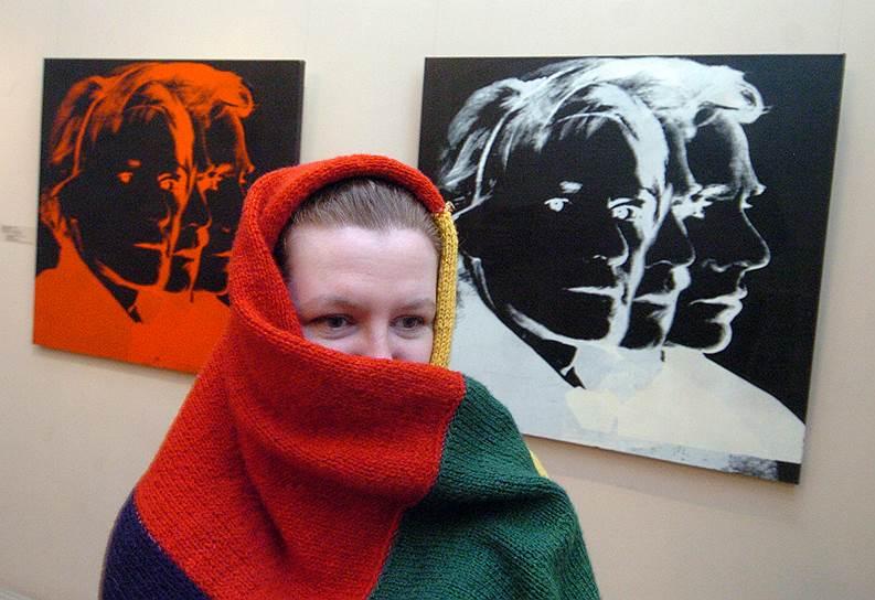 Декабрь 2005. Выставка «Энди Уорхол. Художник современности» из собрания Музея Энди Уорхола в Питтсбурге