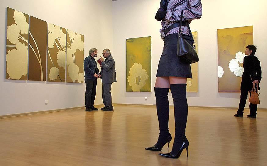 """Февраль 2007. Выставка художника Штефана Шпихера """"Цветение"""""""