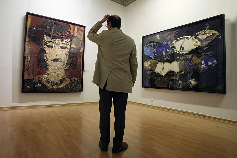 Июль 2008. Выставка испанского художника Маноло Вальдеса