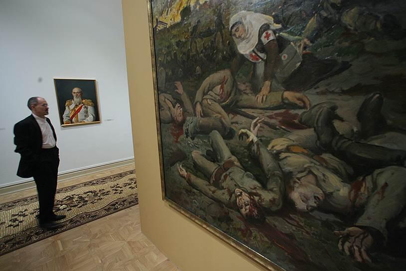 Декабрь 2008. Выставка «Семья Маковских»