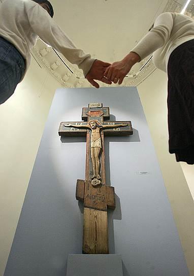 """Декабрь 2008. Выставка икон """"Образы и символы старой веры"""""""