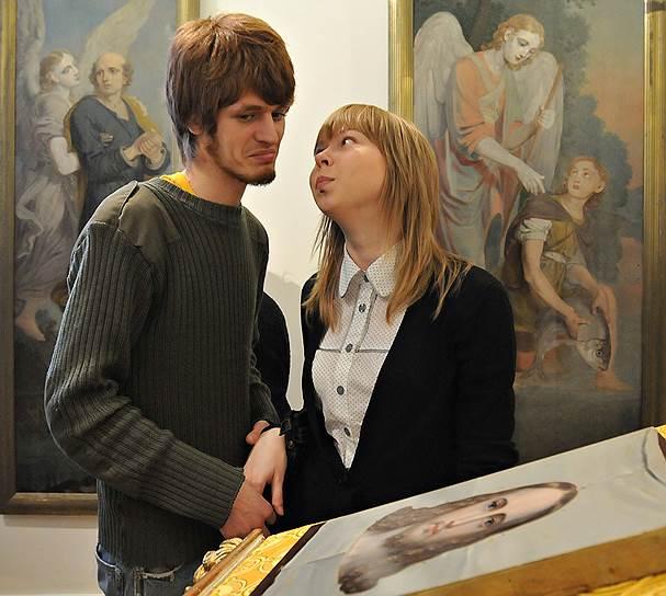 Март 2009. Выставка религиозной живописи Владимира Лукича Боровиковского (1757 - 1825)