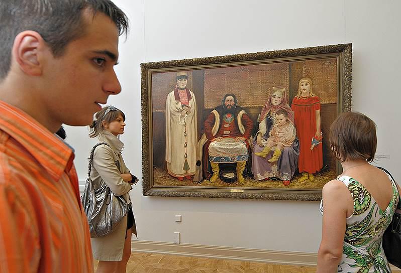 Июль 2009. Выставка художника Андрея Петровича Рябушкина (1861 - 1904)