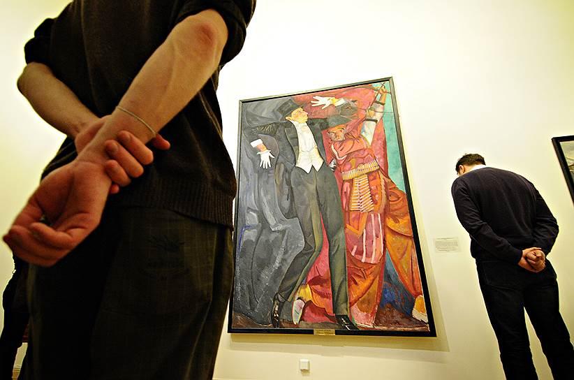 Апрель 2011. Выставка художника Бориса Григорьева (1886 - 1939)