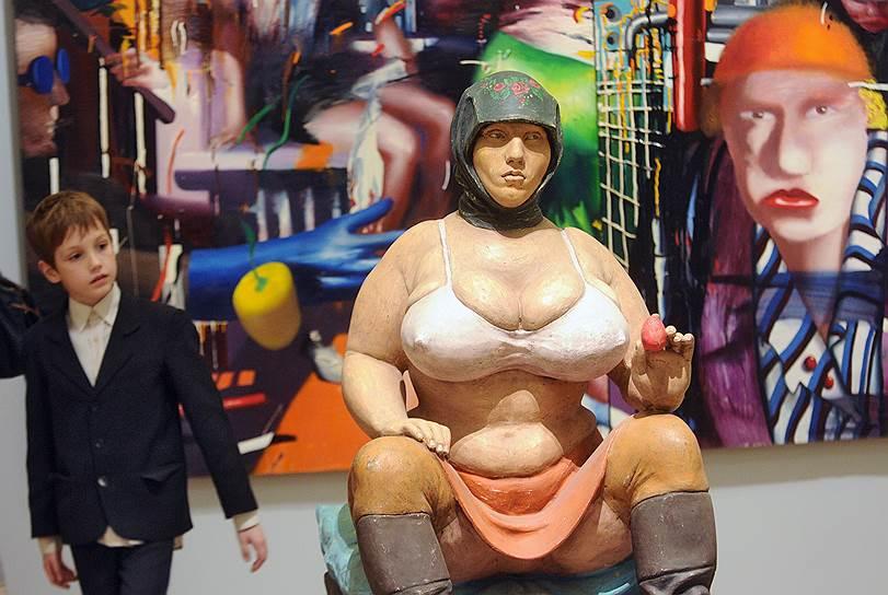 """Декабрь 2012. Выставка """"Без барьеров. Российское искусство 1985 – 2000 годов"""""""