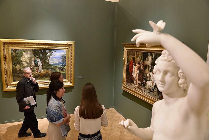 Декабрь 2017. Выставка «Генрих Семирадский и колония русских художников в Риме»
