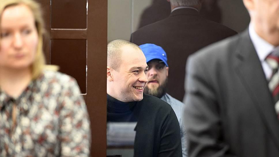 Оглашение приговора бывшим сотрудникам 70 отдела полиции в Невском районном суде