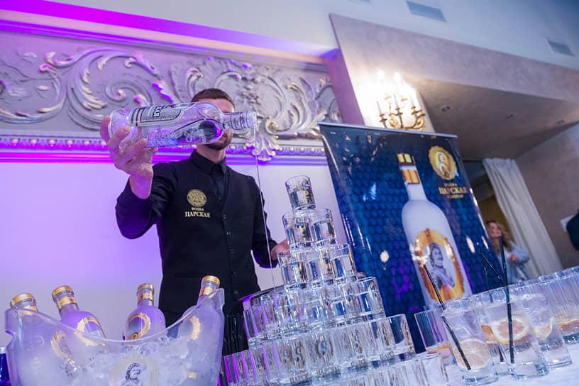 Партнер вечера — виноторговая компания «Ладога»