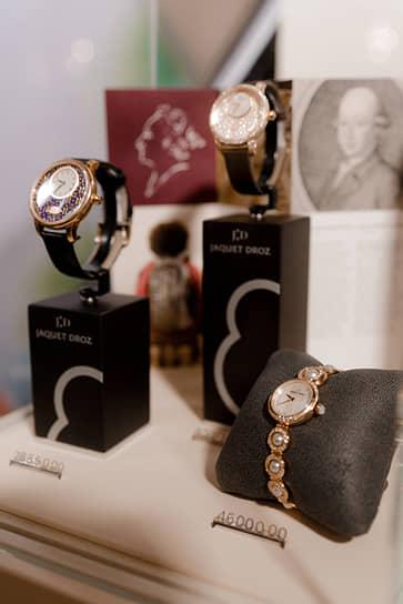 Официальный партнер вечера — Швейцарский часовой бутик Tourbillon и часовой дом Jaquet Droz