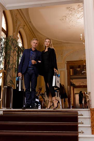 Основатель компании «ЕвроАвто» Игорь Комолов с супругой Светланой
