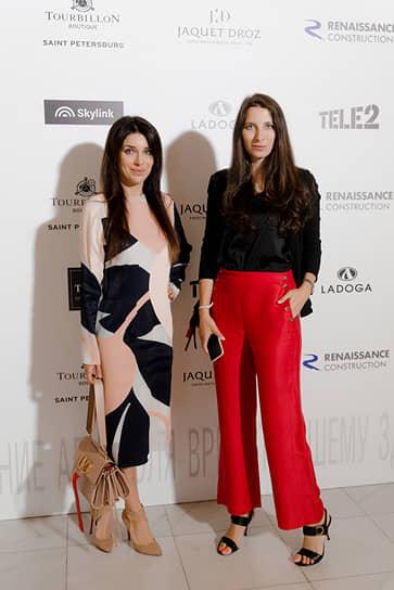 Директор по развитию Engel & Volkers в Санкт-Петербурге Анна Каменева (справа)