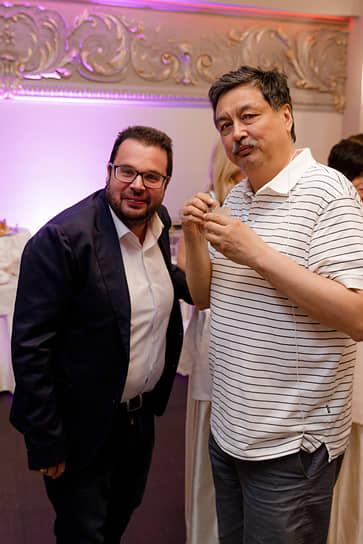 Генеральный директор «Арла Фудс» Михаил Ляско и совладелец ГК «Галактика» Игорь Дю