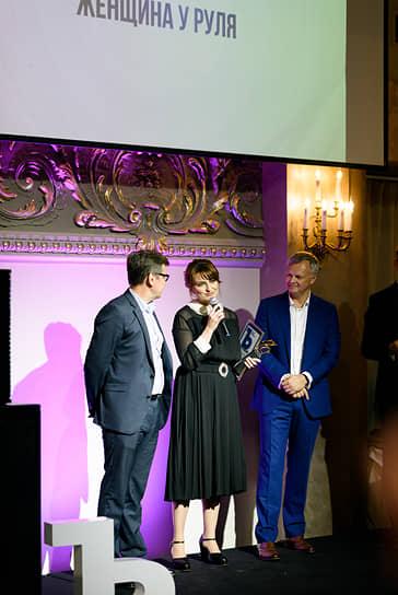 Номинация «Женщина у руля». Победитель: генеральный директор «Балтийской промышленной компании» Диана Каледина