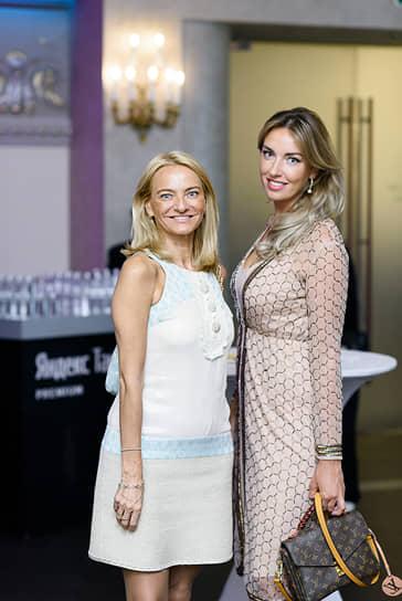 Генеральный директор Bergans Елена Кристиансен и бренд-амбассадор Северо-Западной кофейной компании Марина Баланева