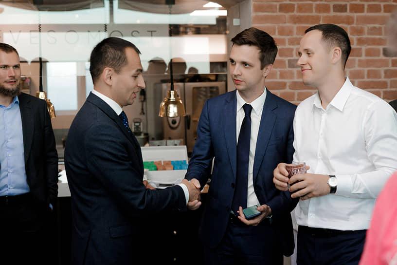 Вечерний прием в честь открытия нового территориального отделения ИК «Фридом Финанс» в Санкт-Петербурге