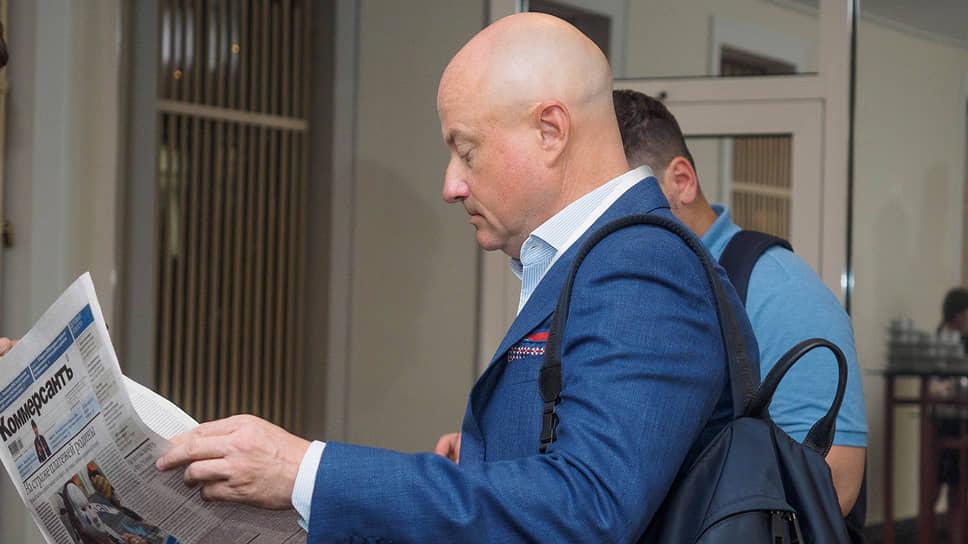 Борис Латкин, президент Межрегиональной спортивной общественной организации яхтсменов класса «Дракон»