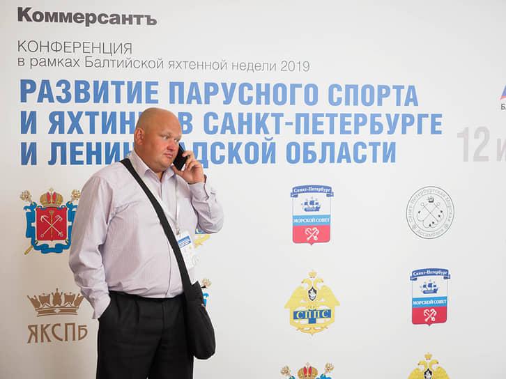 Михаил Мариничев, председатель правления яхт-клуба «Петроградец»