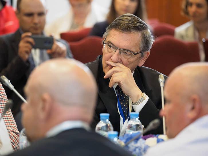 Сергей Алексеев, президент Санкт-Петербургского парусного союза