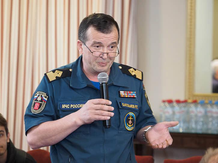 Руслан Батдыев, главный государственный инспектор по маломерным судам Санкт-Петербурга