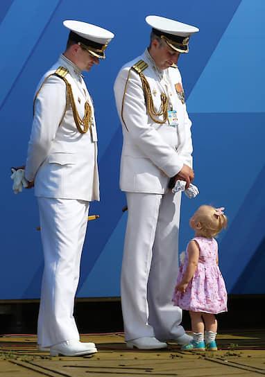 Празднование Дня Военно-морского флота России в Кронштадте