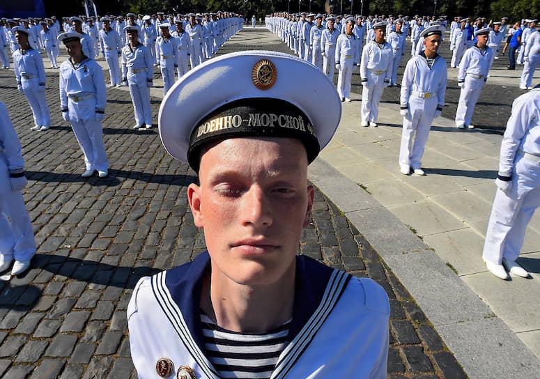 Празднование Дня Военно-морского флота России. Кронштадт