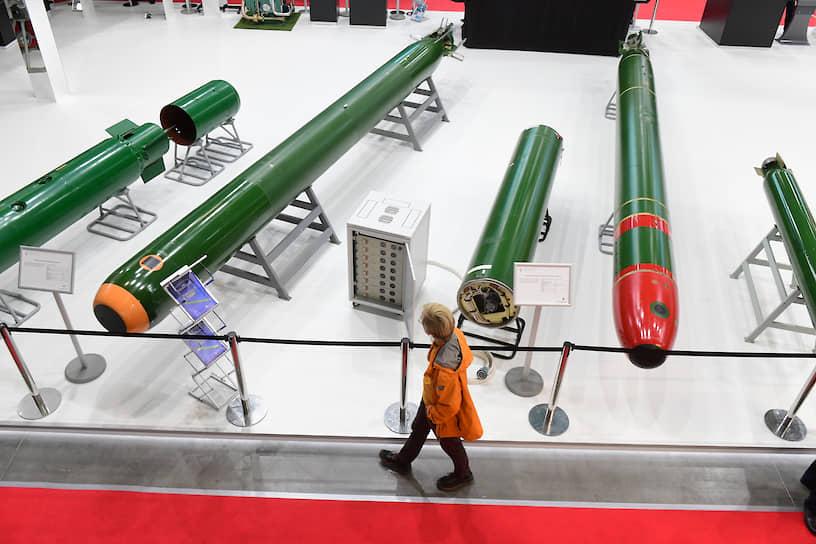 Девятый Международный военно-морской салон МВМС-2019. Образцы ракет морского базирования