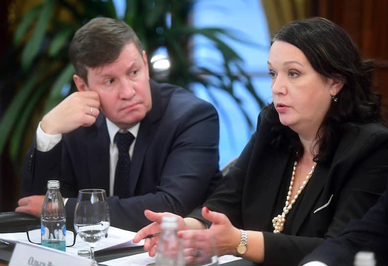 Ольга Волкова, председатель комитета по торговле Санкт-Петербургской торгово-промышленной палаты