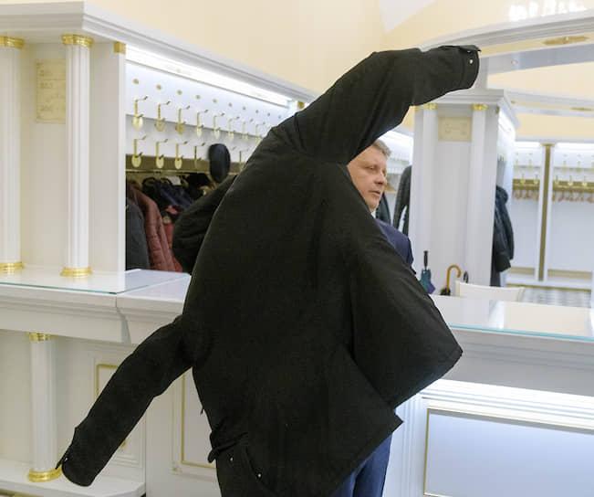 Вице-губернатор Петербурга Максим Соколов после утверждения на должность депутатами Законодательного собрания Санкт-Петербурга