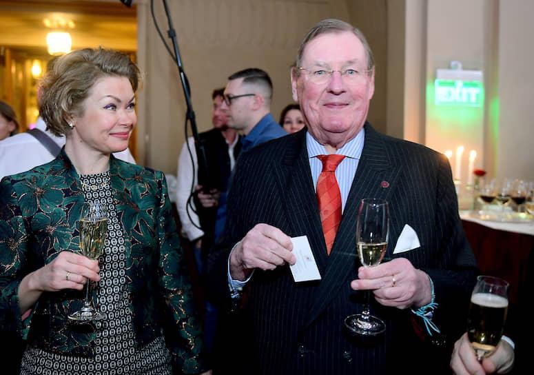 Президент российского отделения Гильдии гастрономов Генри Эвераарс и его советник Татьяна Эвераарс