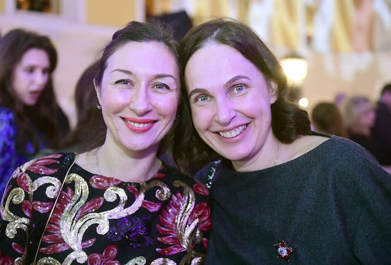Генеральный директор компании Simple в Санкт-Петербурге Ирина Пономаренко (слева) и основатель премии WHERETOEAT Ирина Тиусонина (справа)