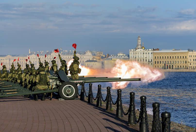 Празднование 317-летия Санкт-Петербурга