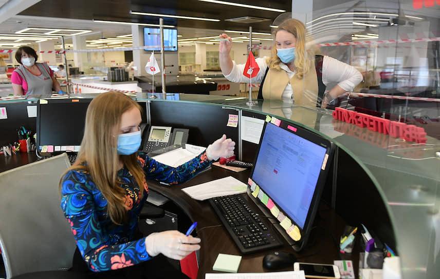 """Начало работы офиса продаж компании """"ЛСР"""" после отмены ограничений в связи с эпидемией коронавируса"""
