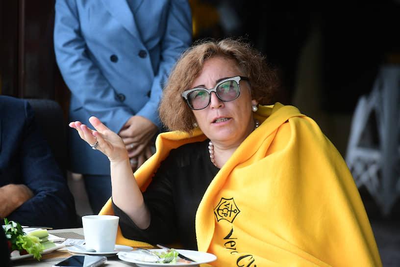 Коммерческий директор ПИИ «Севзапмостпроект» Римма Дошина