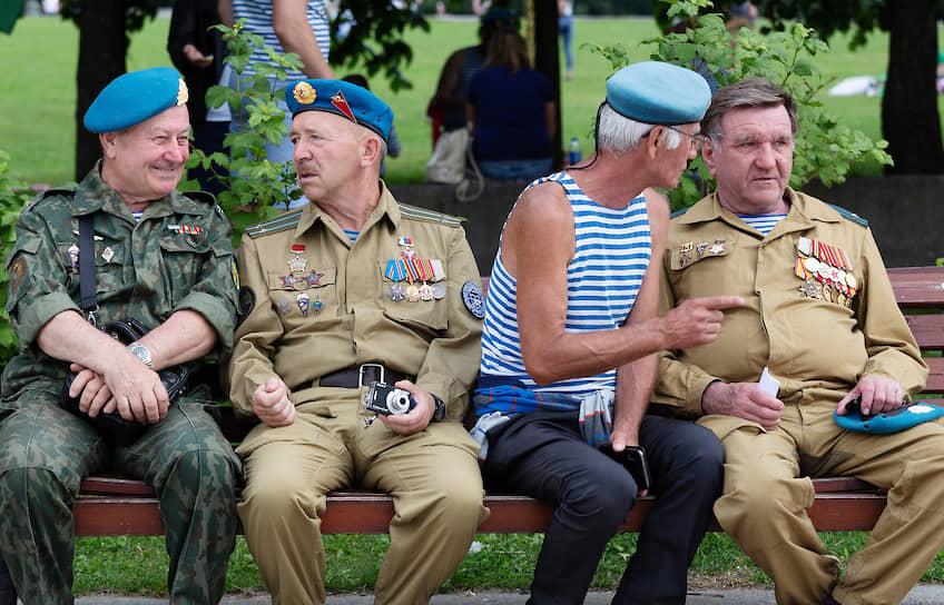 Празднование Дня Воздушно-десантных войск