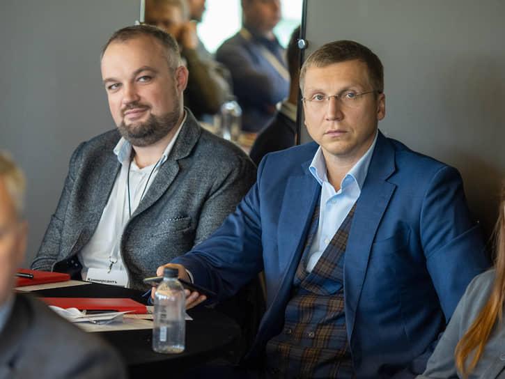 Управляющий партнер юридической компании «ССП-Консалт» Сергей Панфиленко (справа)
