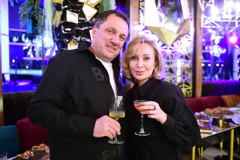 Владелец УФК «Теорема» Игорь Водопьянов и руководитель международного фестиваля балета Dance Open Екатерина Галанова