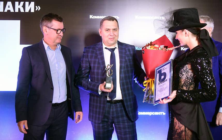 Главный редактор газеты «Коммерсантъ» в Санкт-Петербурге Андрей Ершов, региональный директор компании «Самокат» Андрей Данилко