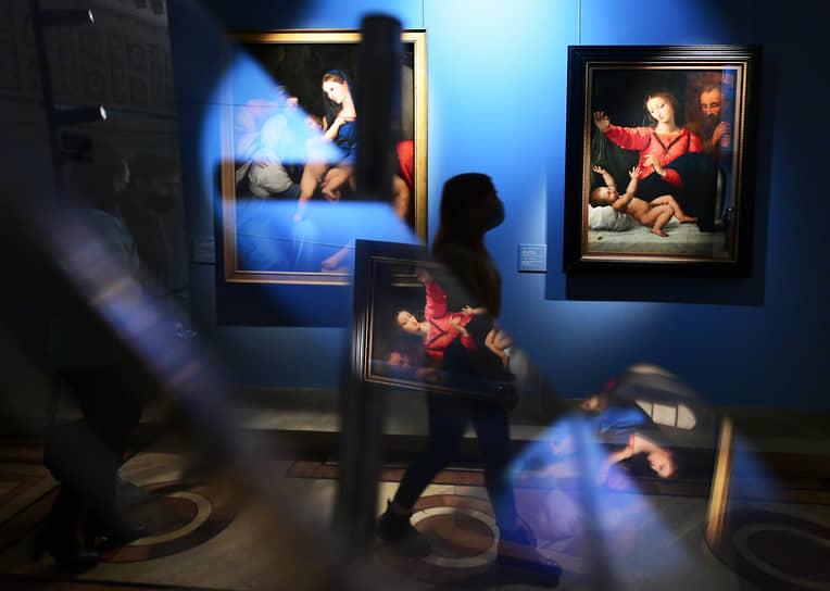Открытие выставки «Линия Рафаэля. 1520-2020» в Государственном Эрмитаже
