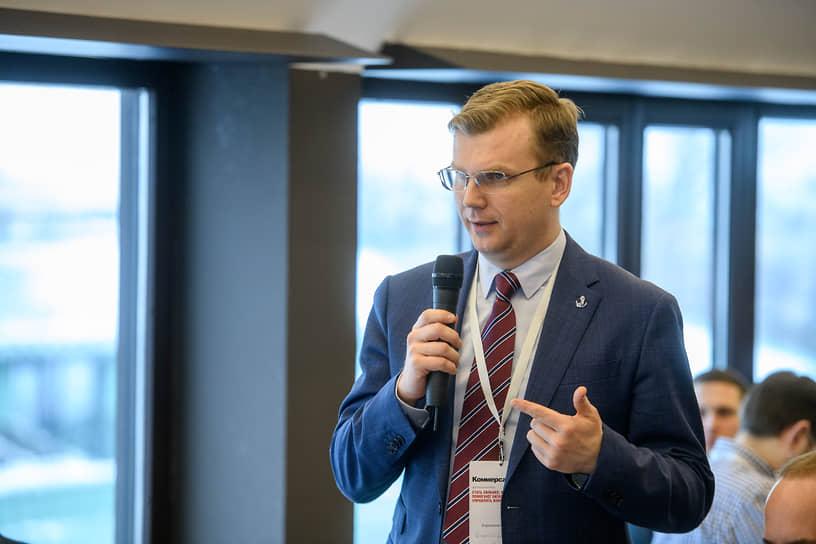 Директор по информационным технологиям компании «Балтийский берег» Максим Каранкевич
