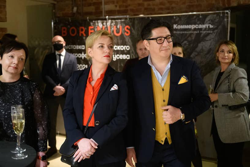 Ерлан Касенов с супругой Екатериной