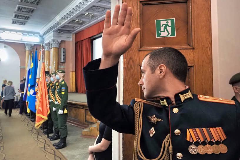 Торжественное заседание, посвященное 80-летнему юбилею Военно-космической академии имени А.Ф.Можайского