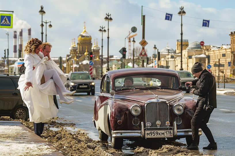 Свадьба на Университетской набережной