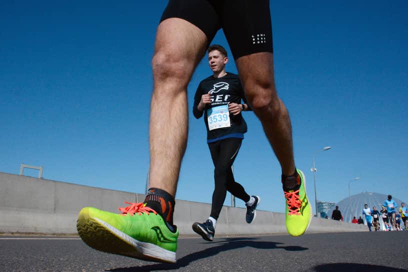 Участники серии забегов Pushkin run на 5, 10 и 21 километров