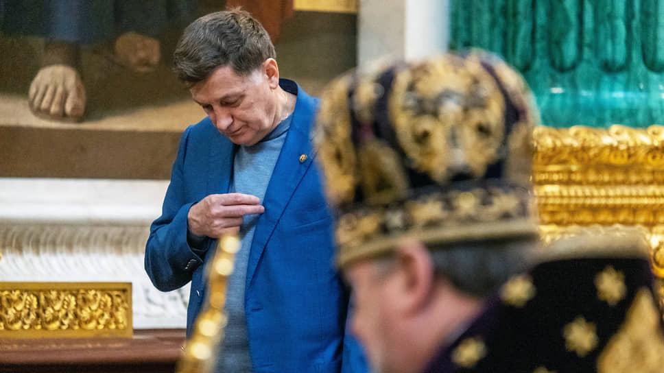 Председатель Законодательного собрания Санкт-Петербурга Вячеслав Макаров