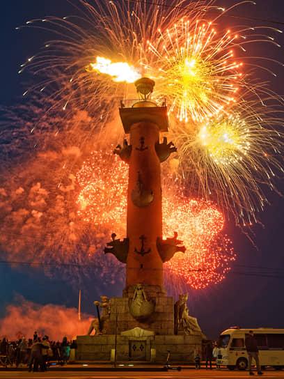 Салют посвященный 76-й годовщине Победы в Великой Отечественной войне